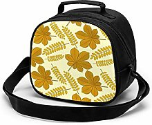 Autumn Yellow Leaves Insulated Lunch Bag Mini