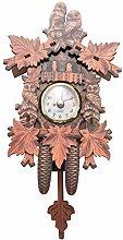 Autumne Vintage Home Decorative Bird Wall Clock