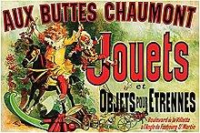Aux Buttes Chaumont Jouets Poster Friends TV