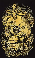 AVA Collections HUMAN DEAD SKULL Wall Hangings
