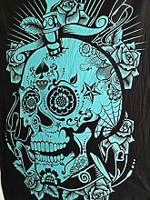 AVA Collections Skull Tapestries Grateful dead