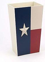 Avanti Linens TEXAS STAR WASTE BASKET, Multicolor
