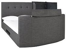 Avelon Fabric Side Lift Ottoman Storage Tv Bed