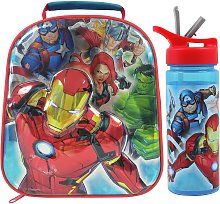 Avengers Eva Lunch Bag and Bottle - 600ml