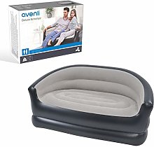AVENLI Deluxe 2 Person Inflatable Arm Chair Sofa,