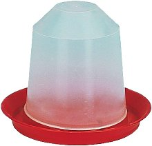 Aviary Drinker (3L) (Red/Transparent) - Savic