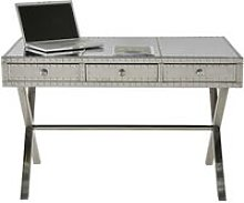 Aviator writing desk aluminium Steel