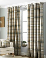 Aviemore Ringtop Eyelet Curtains (229 x 229 cm)