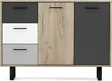 Aviva Wooden Sideboard Small In Multicolor And