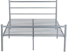 Avocet Bed Frame Borough Wharf Colour: Silver,