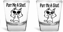 AW Fashions - Purr Me a Shot - Funny Cat Lover