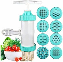 AWCPP Manual Pasta Hines Noodle Maker with 8