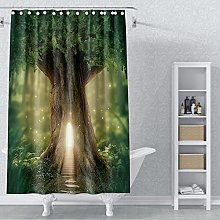 AWERT 105x160cm Tree Shower Curtain Tree of Life