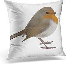 Awowee Cushion Cover 45x45cm/18x18inches Brown