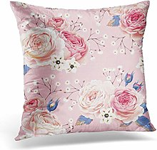 Awowee Cushion Cover 45x45cm/18x18inches Pink
