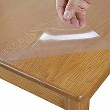 AWSAD Clear Table Cover Protector, Clear Table