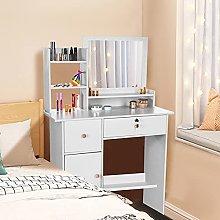 Awssya Modern Dressing Table, Bedroom Vanity Set