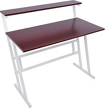 Awssya Simple Computer Desk, Home Ladder Desk