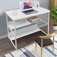 Awssya Single Computer Desk, Ladder Desk Computer