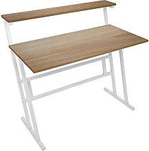 Awssya Single Ladder Desk, Home Computer Desk PC