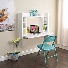 Awssya Wall Mounted Desk with Storage