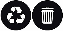 AWYUAN Rubbish Bin Sticker Home Personalized