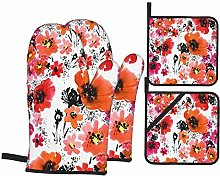 AXEDENRRT Oven Mitts and Pot Holders Sets of