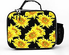 AXGM Cool Bag Flowers Yellow Sunflower Lunch Bag