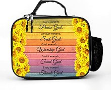 AXGM Cool Bag Happy Moments Sunflower Sayings