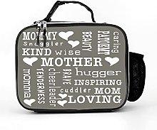 AXGM Cool Bag Loving Nice Mum Inspirational Words