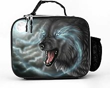 AXGM Cool Bag Moon and Wolf Lunch Bag Lunch Bag