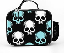 AXGM Cool Bag Skull Skull Lunch Box Bag Lunch Bag