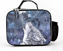 AXGM Cool Bag Wolf Lunch Bag Picnic Bag Lunch Bag