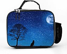 AXGM Wolfsmond Tree Star Clear Sky Lunch Box Bag