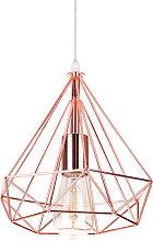 Axhup - Diamond Ceiling Light Contemporary Pendant
