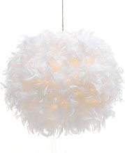 Axhup - Pure Feather Pendant Light Modern