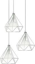 Axhup - Retro Ø20cm Cage Pendant Lamp Creative