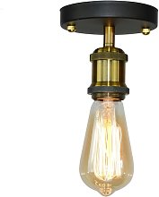 Axhup - Retro Industrial Ceiling Light E27 Simple