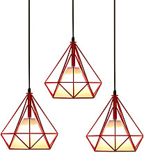Axhup - Retro Pendant Light Ø25cm Diamond Cage