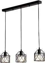 Axhup - Retro Pendant Light Vintage Industrial