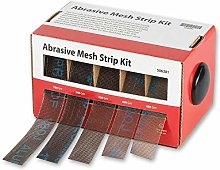 Axminster Abrasive Mesh Strip Ki