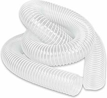 Axminster Clear Reinforced PVC Hose - 63mm x 2.5m
