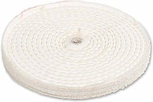 Axminster Craft 150mm Stitched Polishing Mop Plain