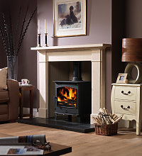 Axon Ashleigh Limestone Fireplace With Reeded