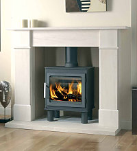 Axon Brompton Limestone Fireplace With Reeded