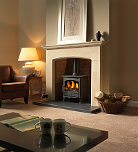 Axon Cotswold Limestone Fireplace With Rustic