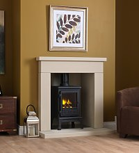 Axon Durrington Limestone Fireplace With Reeded