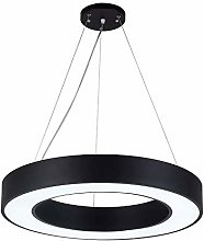 AXWT LED Hollow Circle Chandelier Office