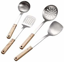 AYCPG Spatula Colander Kitchen Handle Stainless