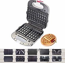 AYDQC Waffle Maker with Removable Non-Stick
